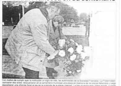 100_Aniversario_ofrenda_floral_Pirmide_de_la_Libertad