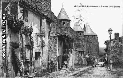 AUDE_-_Carcassonne_rue_des_lices_hautes