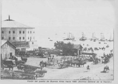 puerto_de_Buenos_Aires_hacia_1880_Hotel_de_Inmigrantes_conocido_como_La_Rotonda_funcion_hasta_1911